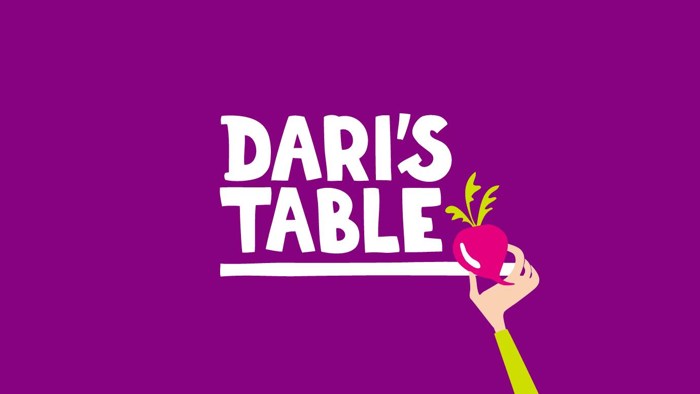 Dari's Table Logo design