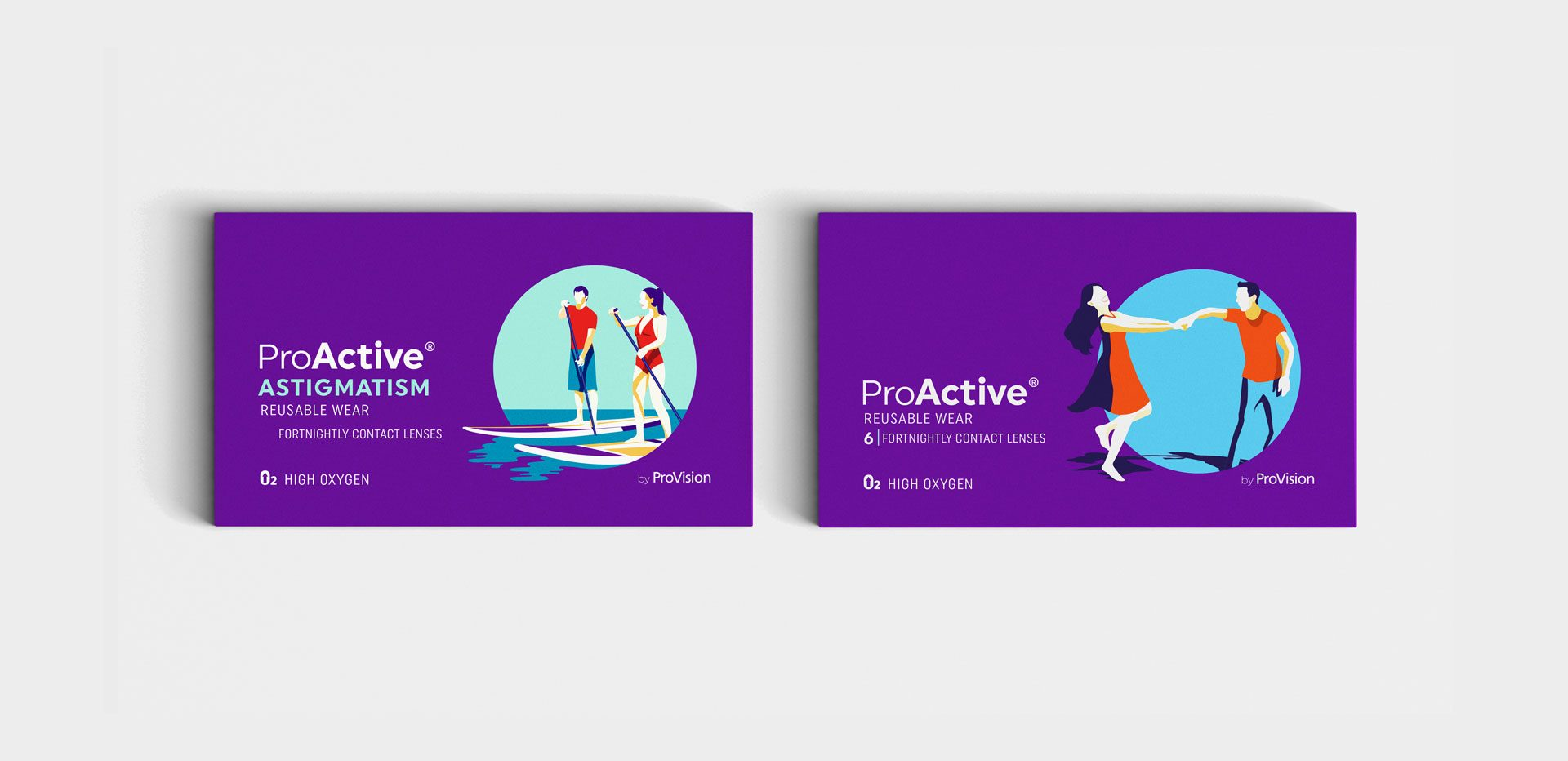 ProVision ProActive packaging range