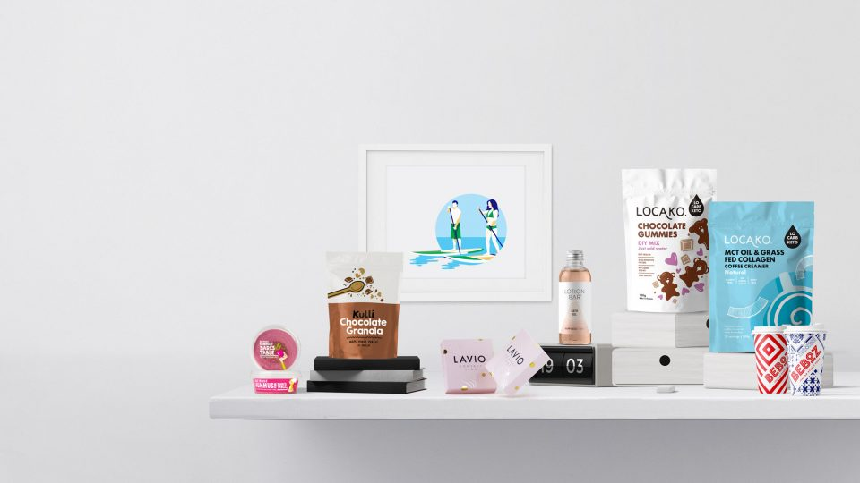Branding &#038; <br>Packaging <br> Design