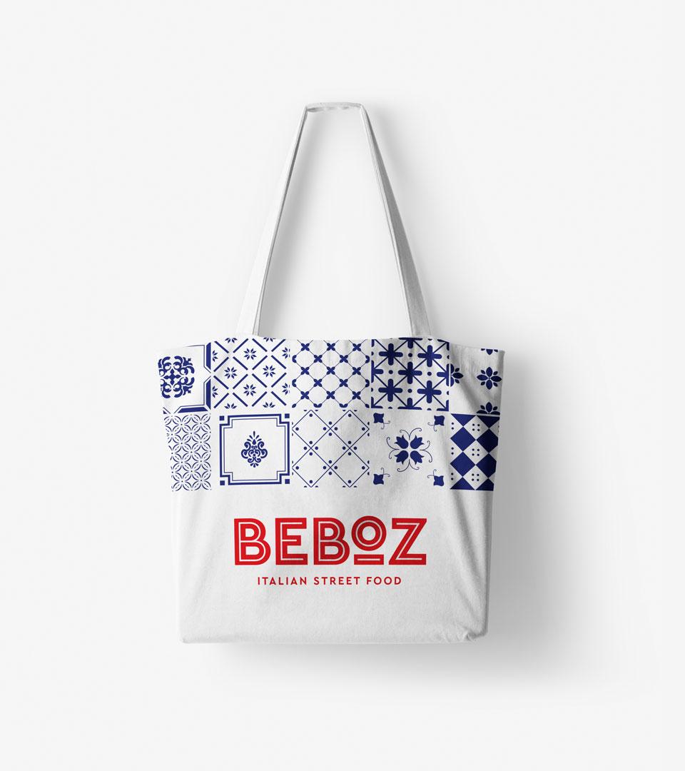 Beboz - canvas bag design