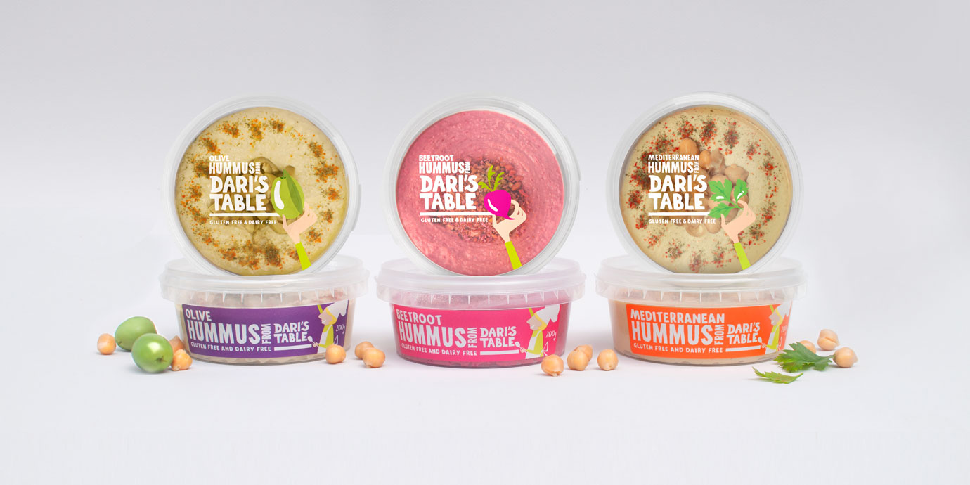 Dari's Table Packaging Design