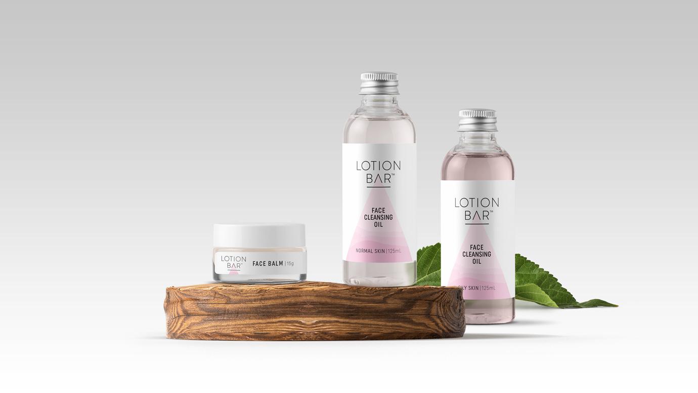 Lotion Bar Packaging - face range