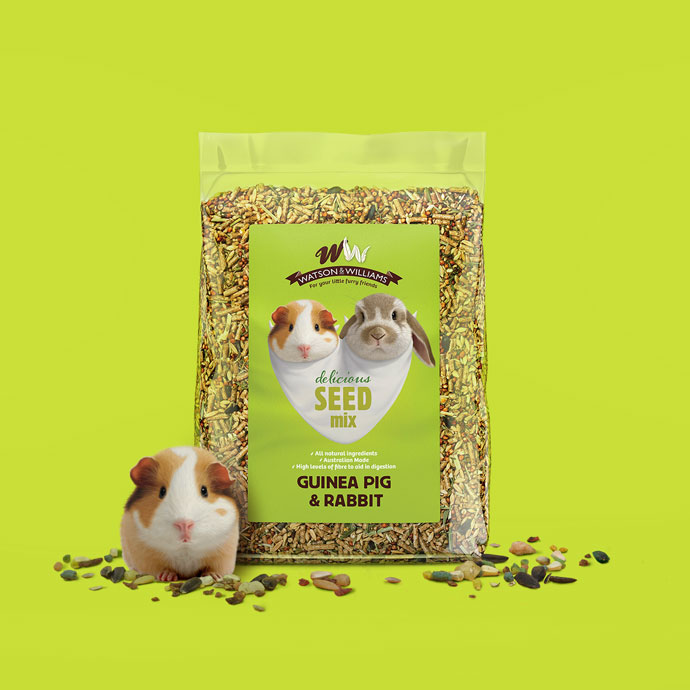 Watson & Williams Packaging Guinea Pig & Rabbit