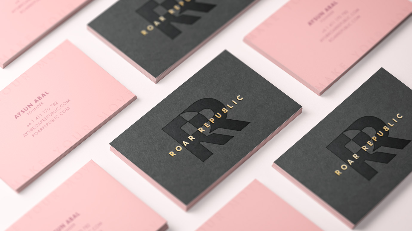 Roar Republic Business Card design